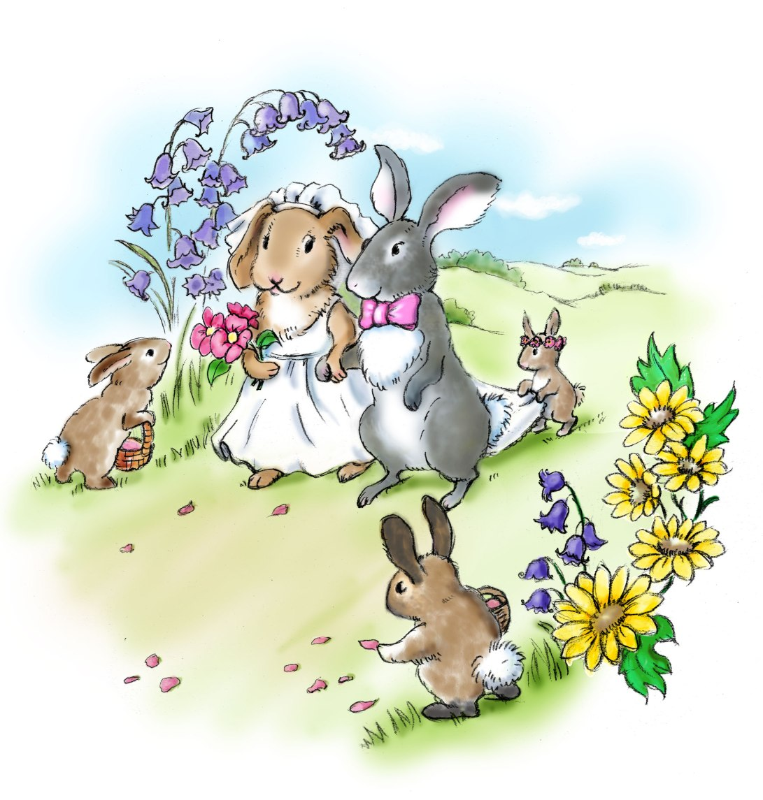 bunny-wedding